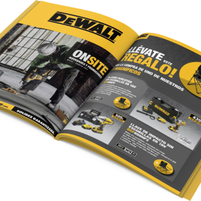 folleto dewalt